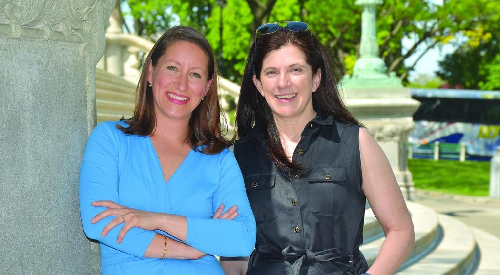 Annmarie Lanesey and Janet Carmosky of AlbanyCanCode
