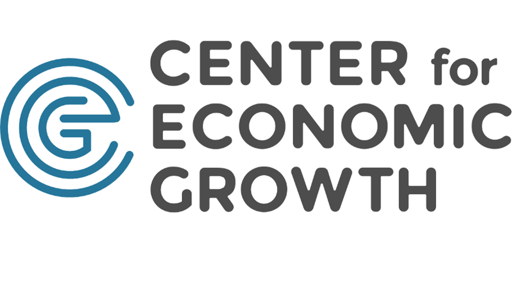 A logo: the letters C.E.G stylized. The words Center for Economic Growth